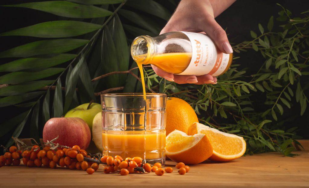 Ovocné Tutty Smoothie imunita bez cukru a konzervantov
