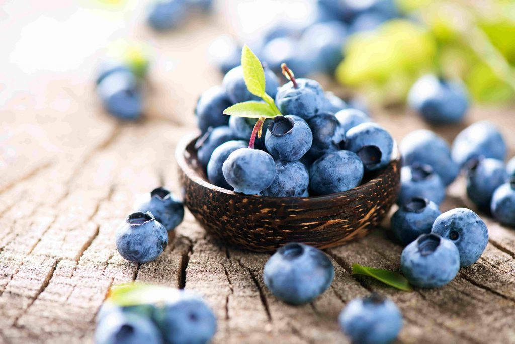 účinky čučoriedok, zdravé recepty s čučoriedkami